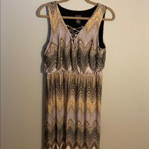 Maxi dress - multi color